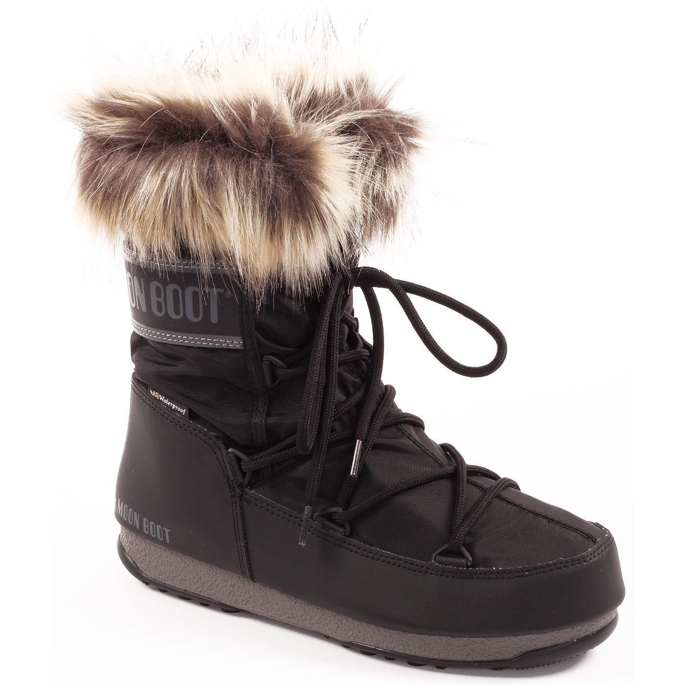 MOON BOOT Monaco Low Retro 70s Winter Boots B