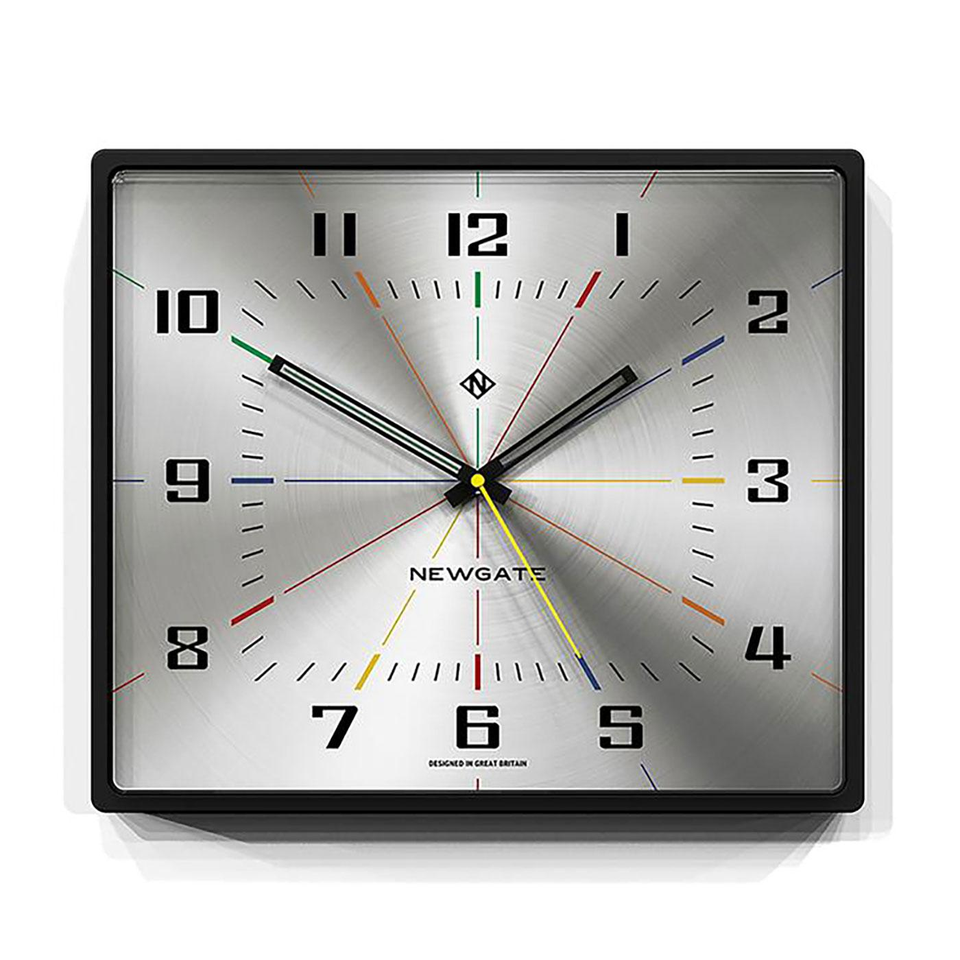 Box Office NEWGATE CLOCKS Retro Square Wall Clock