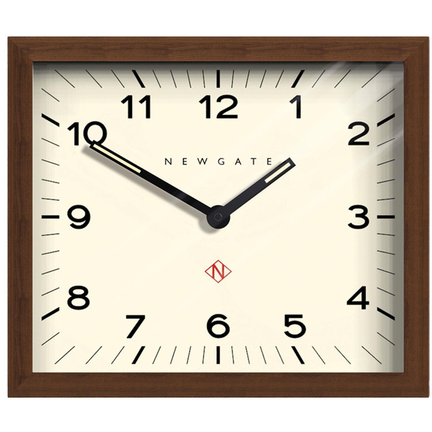 Mr Davies NEWGATE CLOCKS Retro Wooden Wall Clock