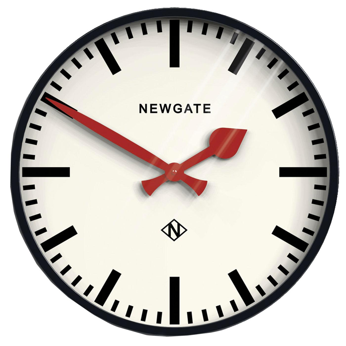 The Putney NEWGATE CLOCKS Retro 50s Station Clock