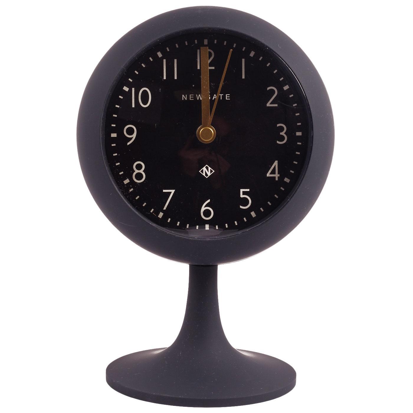 NEWGATE Retro Dome Alarm Clock Petrol w/Black Dial