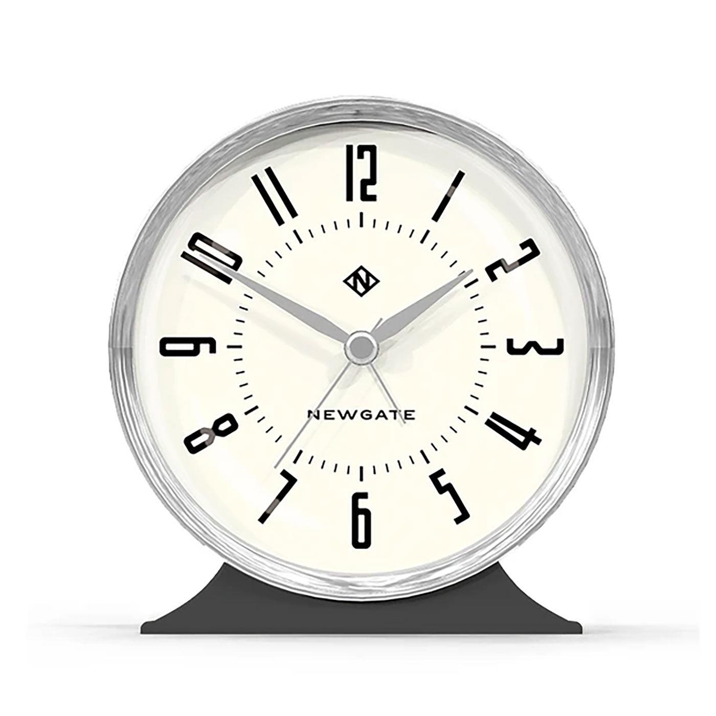 The Hotel NEWGATE CLOCKS Art Deco Alarm Clock
