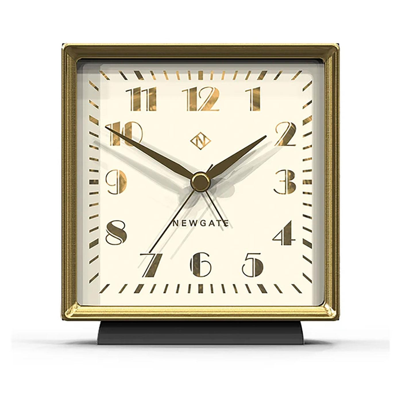 Skyscraper NEWGATE CLOCKS Art Deco Alarm Clock MG