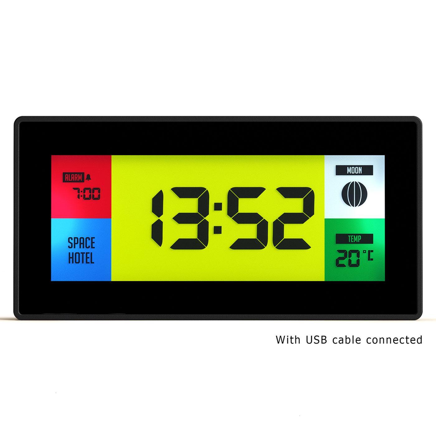 SPACE HOTEL BY NEWGATE CLOCKS Robot 10 Alarm Clock