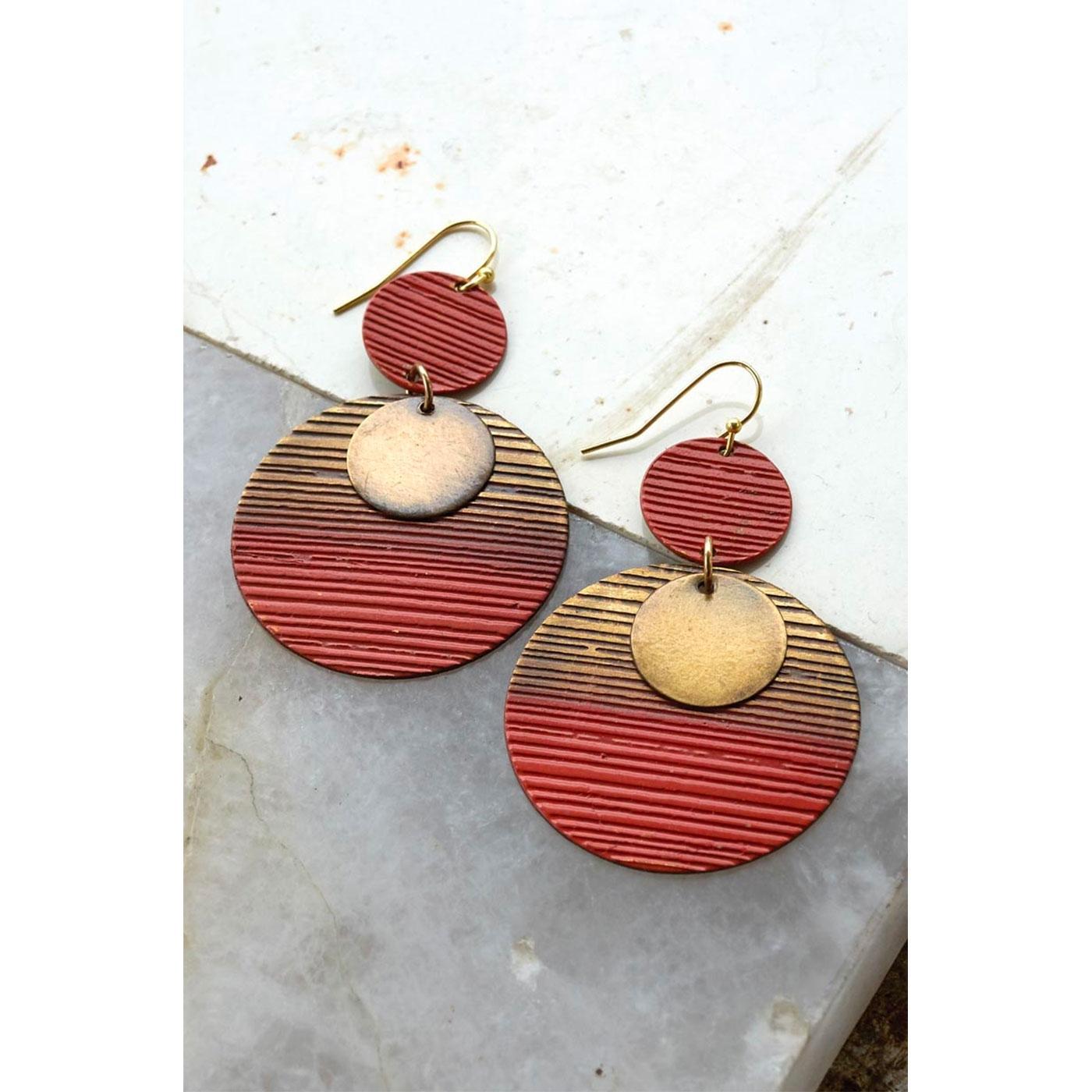 + NOMADS Fair Trade Orissa Circle Earrings