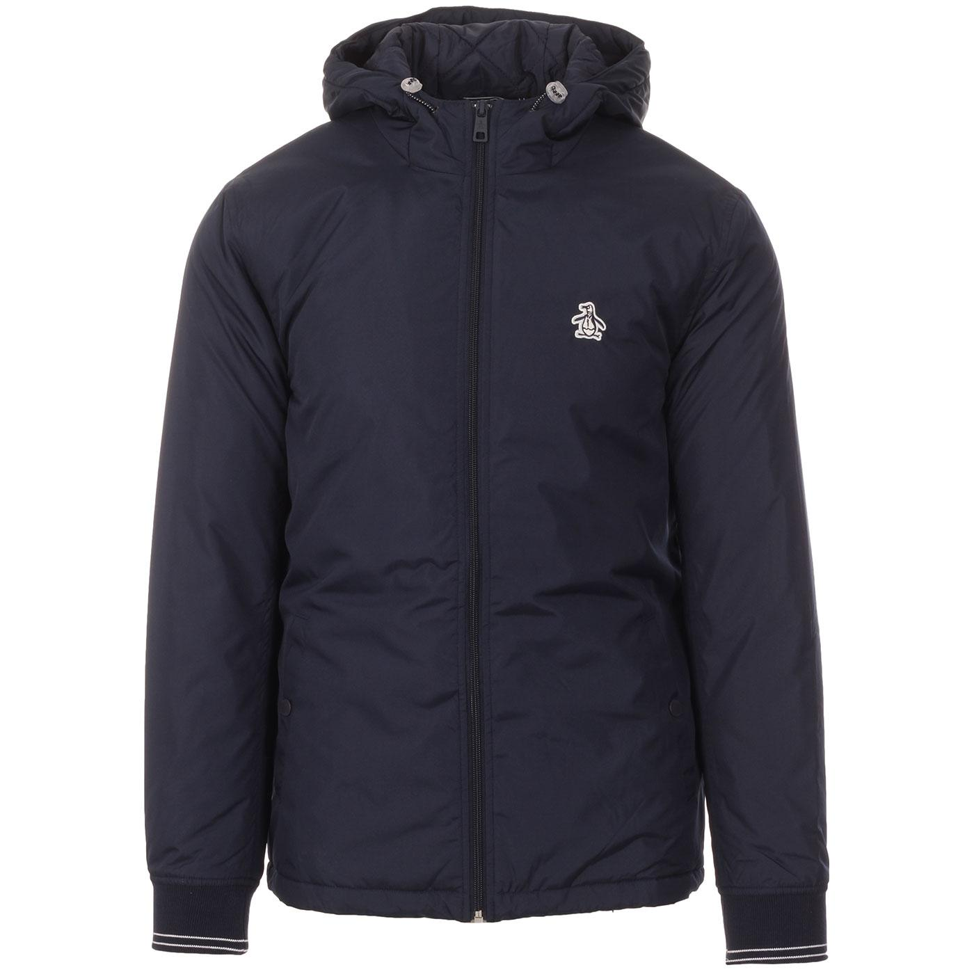 ORIGINAL PENGUIN Retro Hooded Wadded Ratner (DS)