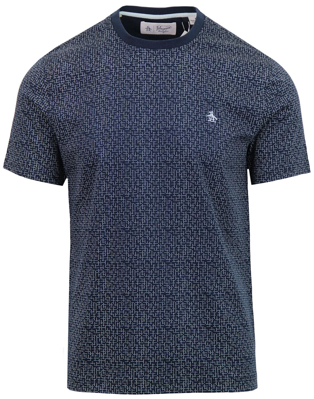 ORIGINAL PENGUIN Retro Abstract Dot Print T-Shirt