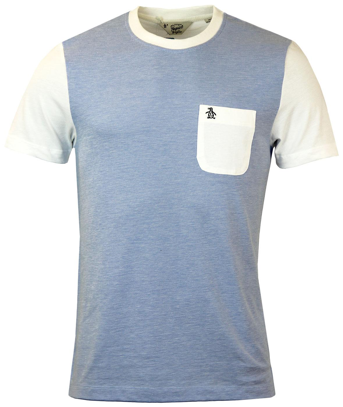 Dimmer ORIGINAL PENGUIN Retro Mod Two Tone Tee