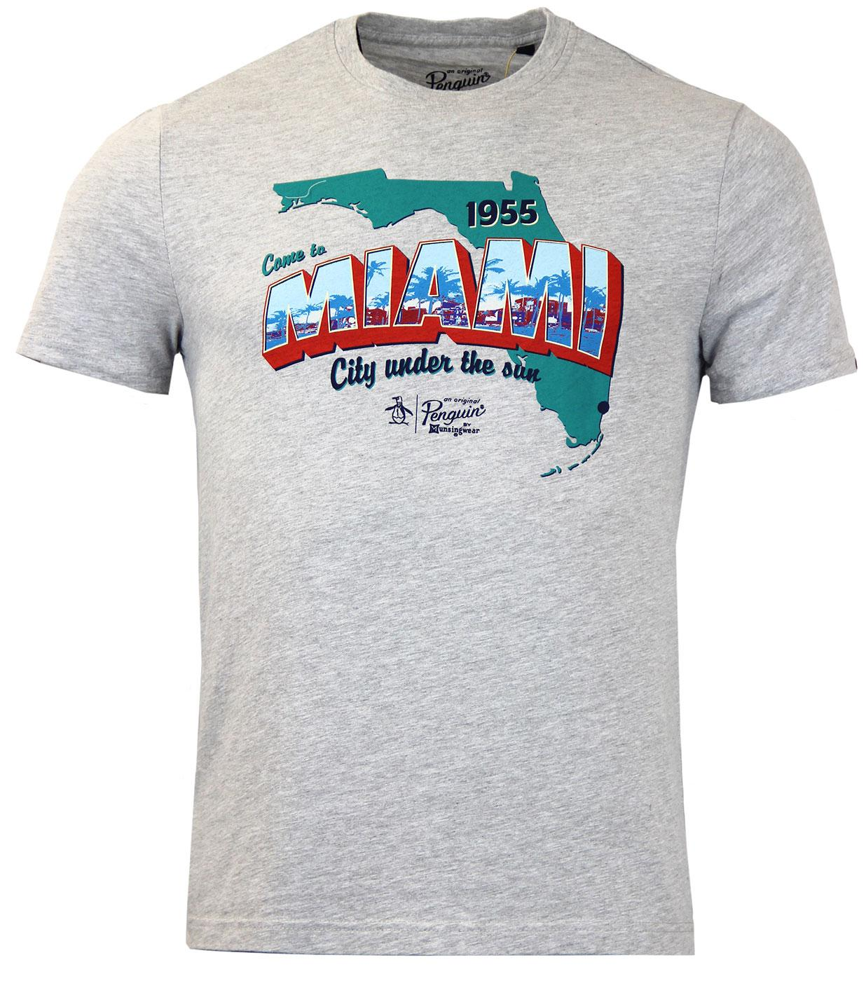 Tourist ORIGINAL PENGUIN Retro 70s Miami T-Shirt