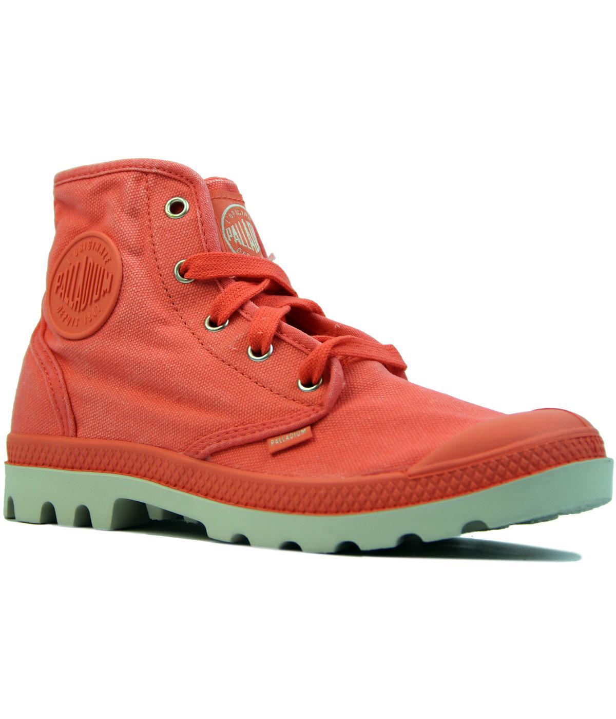 Pampa Hi PALLADIUM Retro 70s High Top Womens Boots