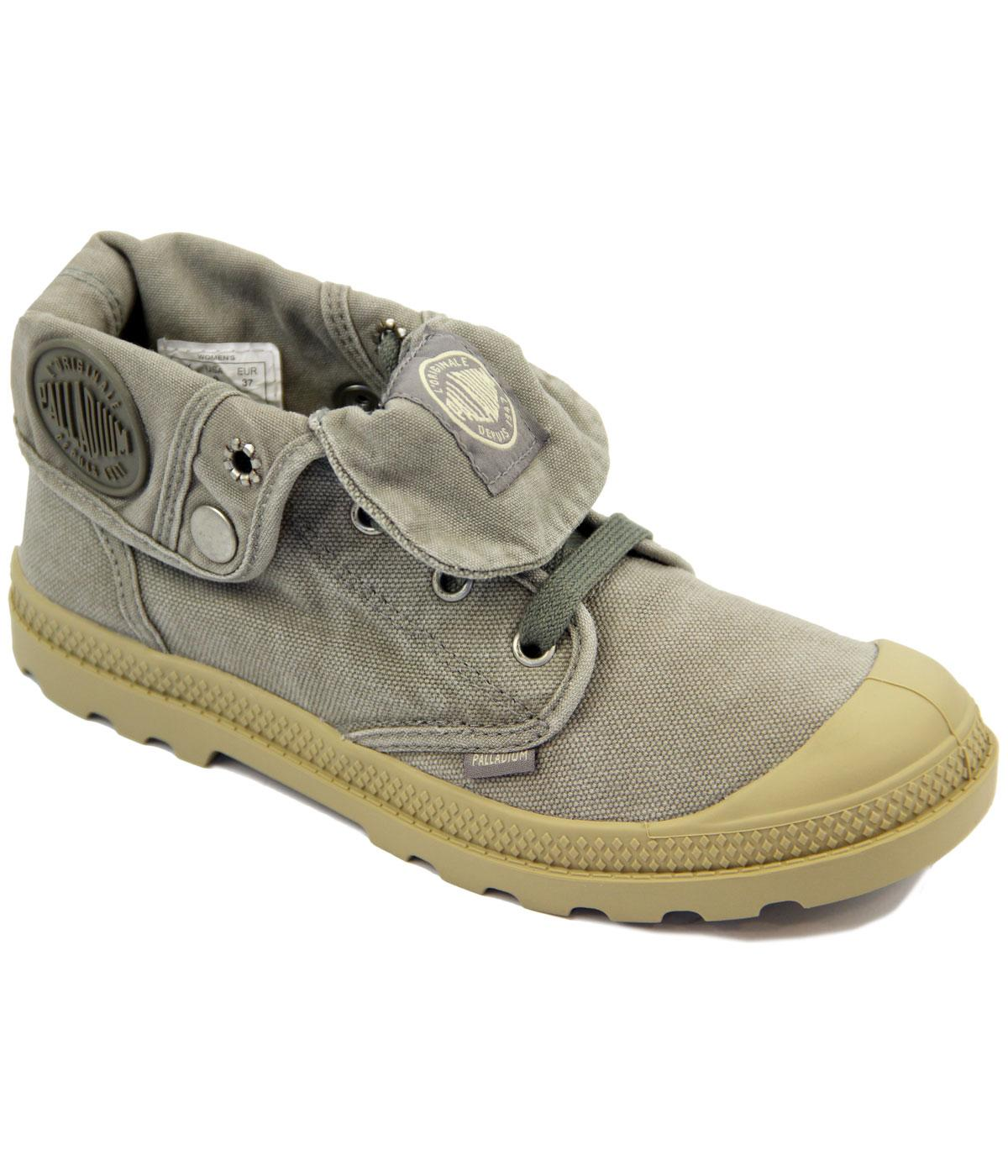 Baggy Low PALLADIUM Womens Retro Canvas Boots C/P