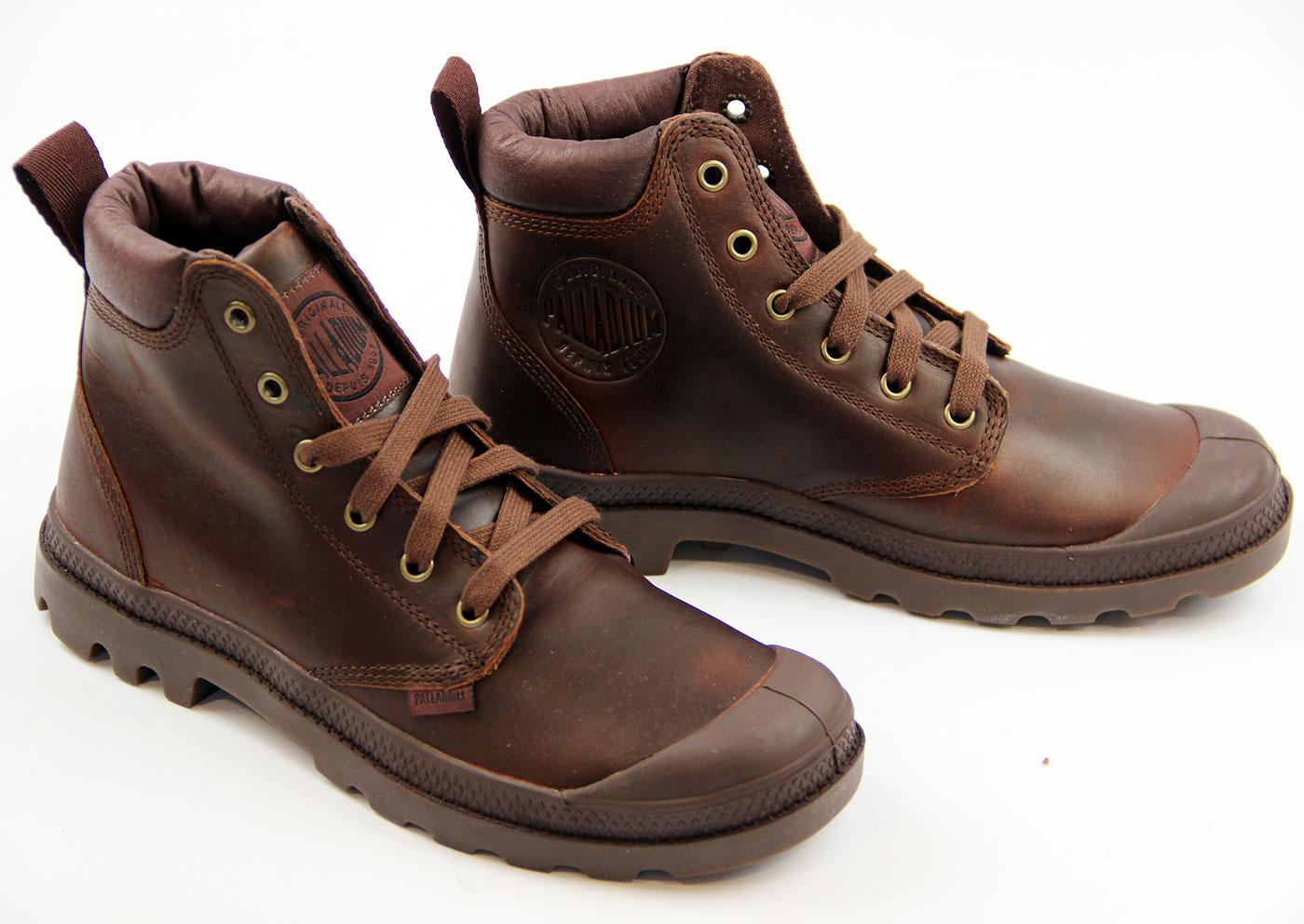 Palladium Pampa Hi Cuff Leather Boots