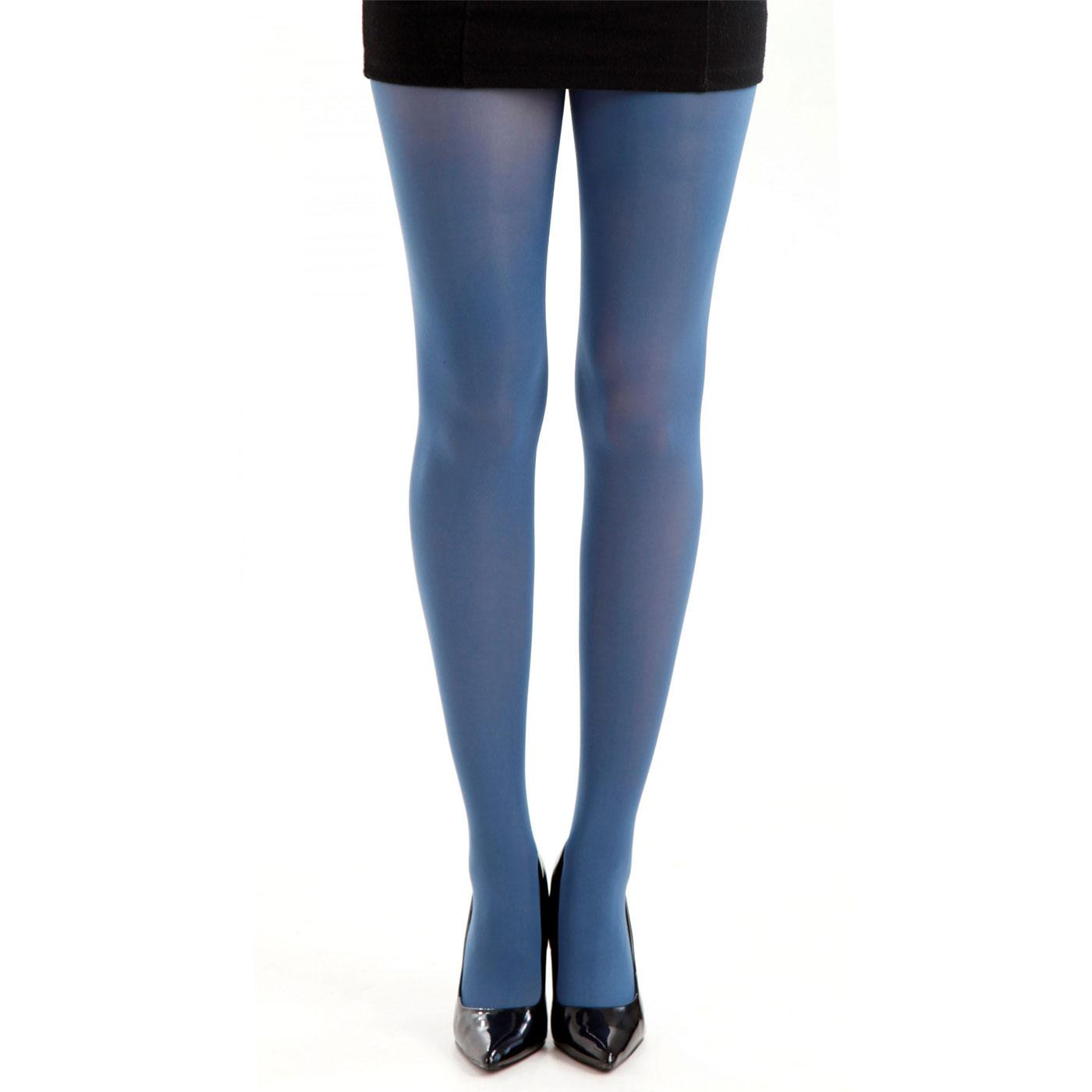 + PAMELA MANN 50 Denier Opaque Tights in Denim