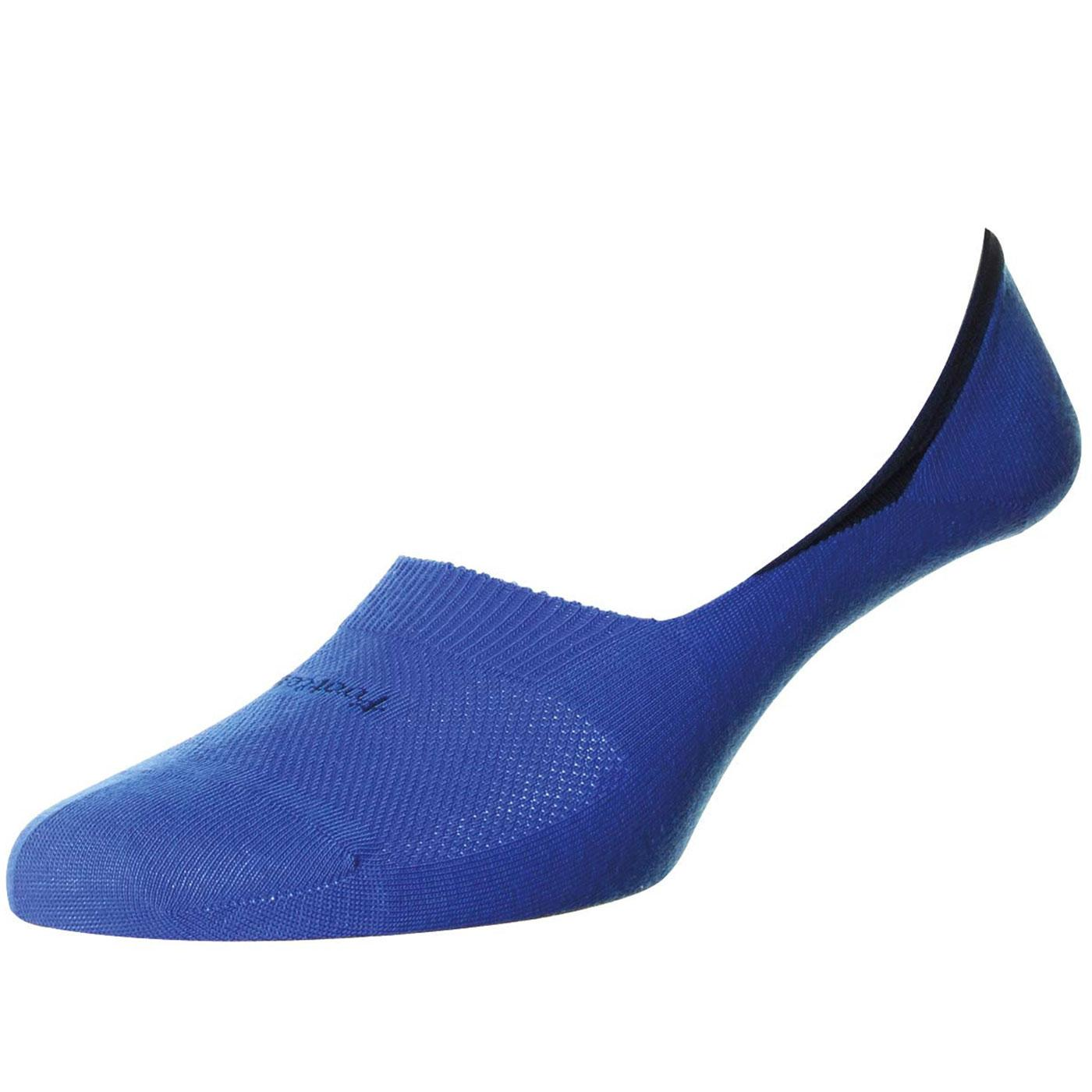 + Seville PANTHERELLA Retro Invisible Socks - Blue