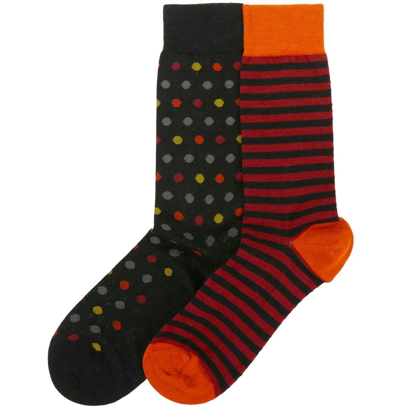 PANTHERELLA Spots & Stripes Merino Socks Gift Set