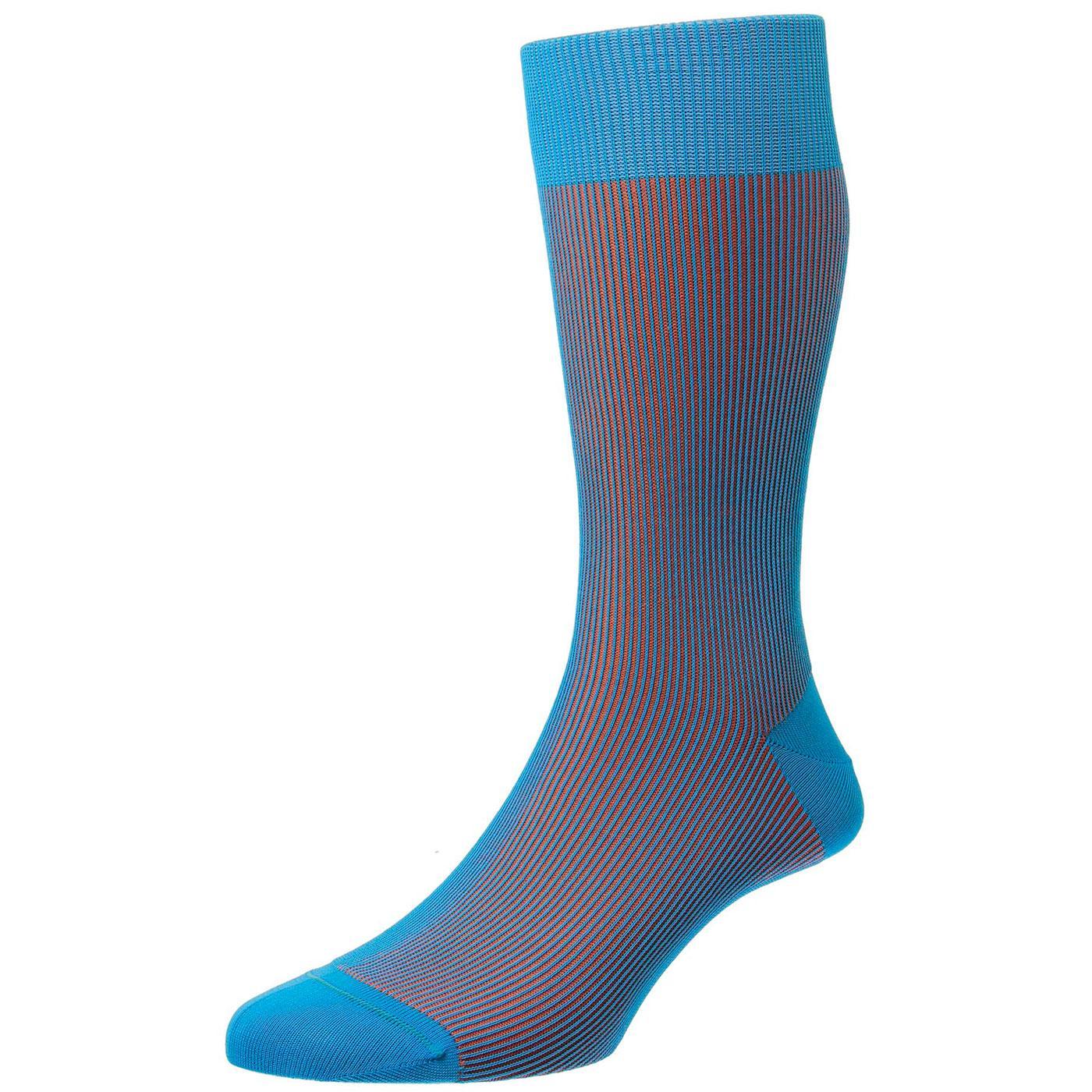 + Santos PANTHERELLA Men's Tonic Effect Socks T