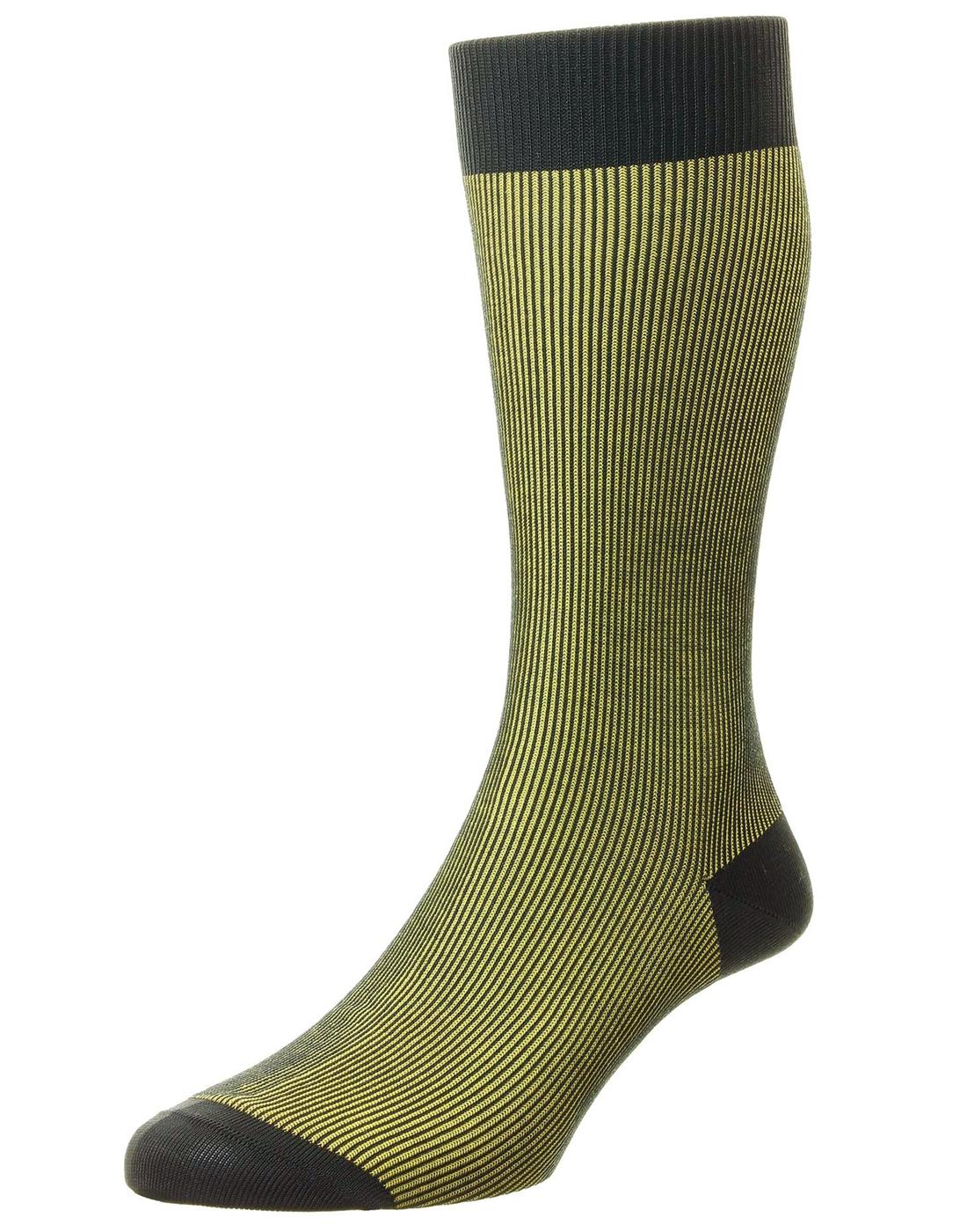 + Santos PANTHERELLA Men's Tonic Effect Socks GY