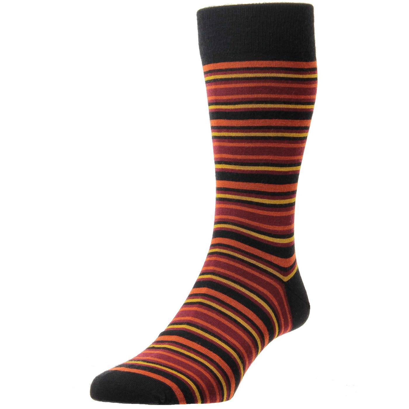 + Piper PANTHERELLA Men's Mod Striped Socks B