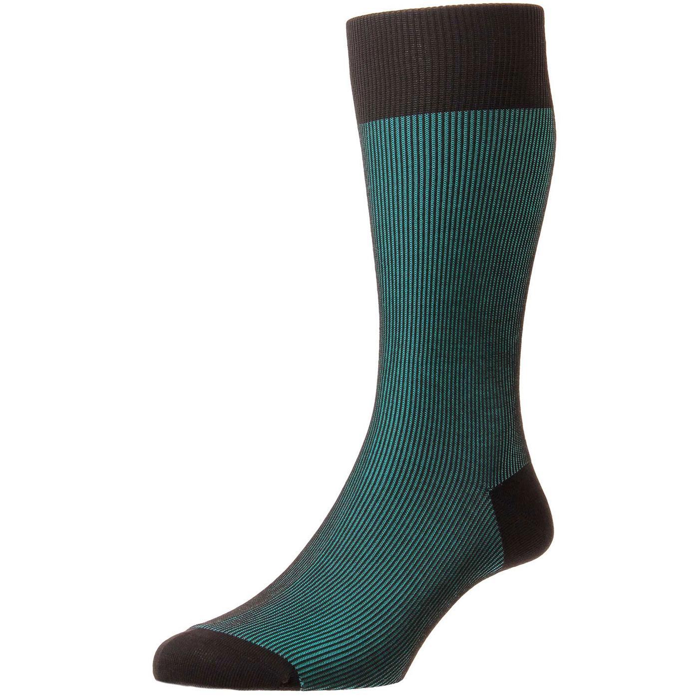 + Santos PANTHERELLA Men's Tonic Effect Socks C