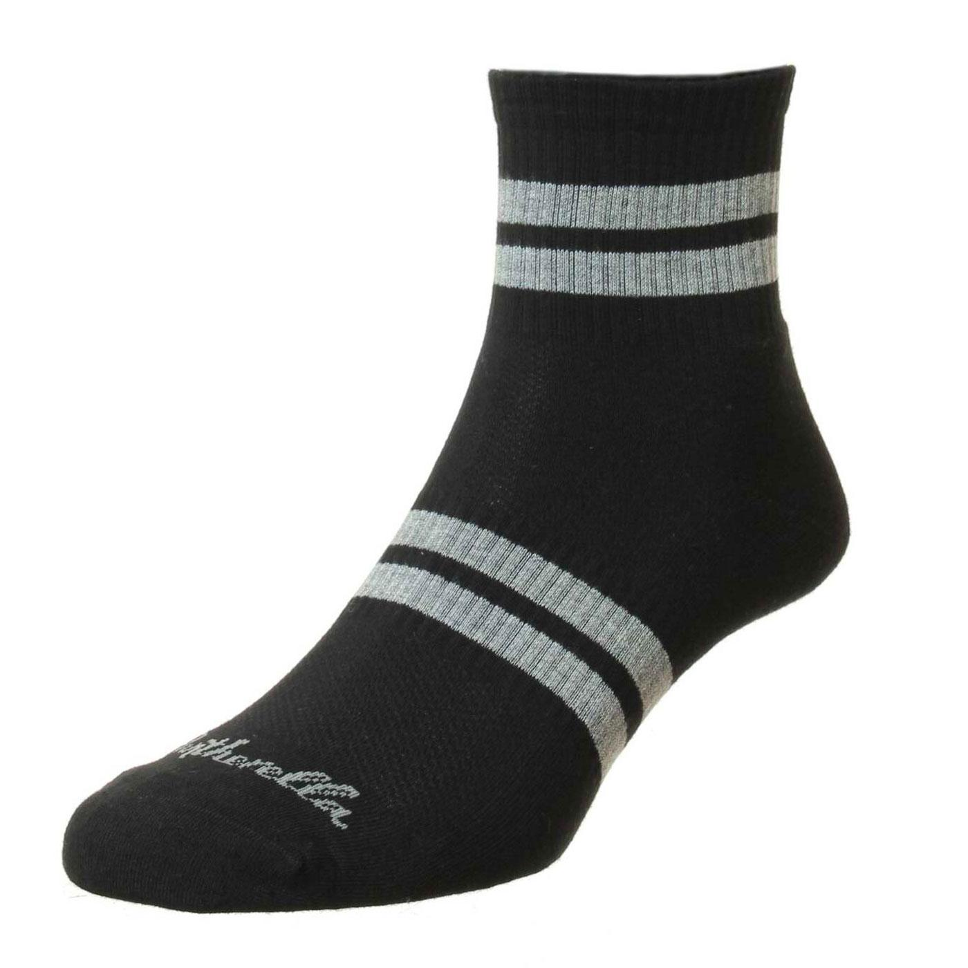 + Spark PANTHERELLA Retro Stripe Sneaker Socks (B)