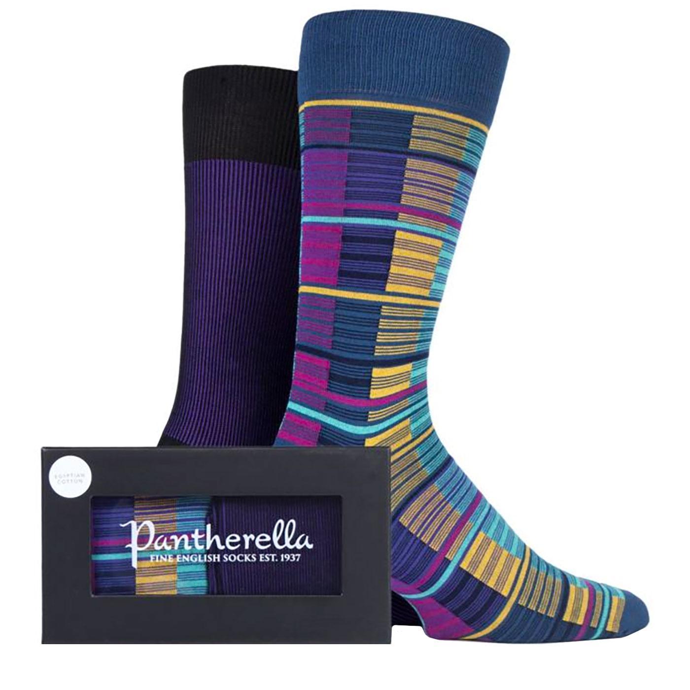 PANTHERELLA Egyptian Cotton Stripe Sock Gift Set