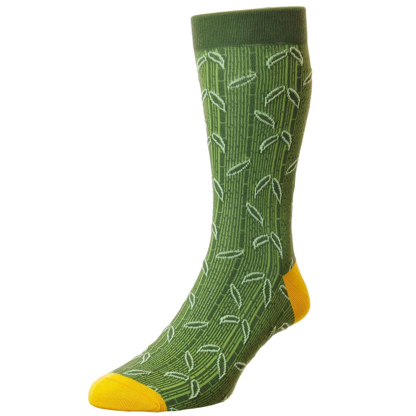 + Takenoko PANTHERELLA Made in England Leaf Socks