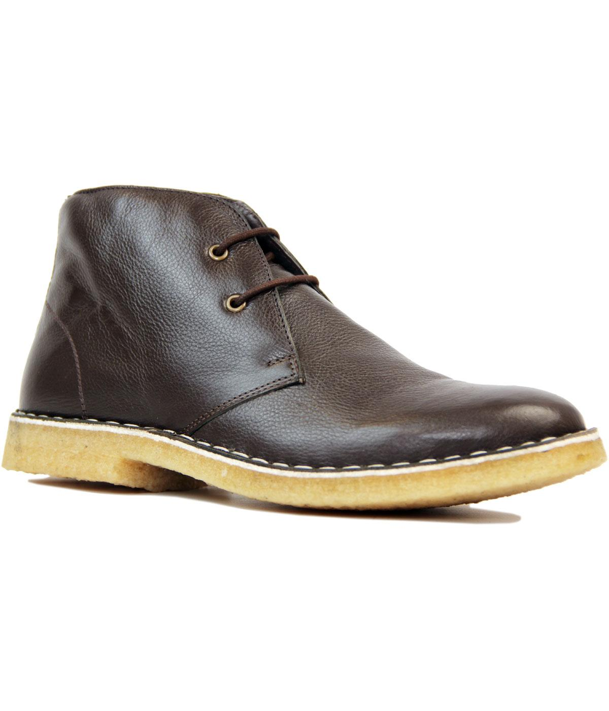 Netherfield PAOLO VANDINI Mod Leather Desert Boots
