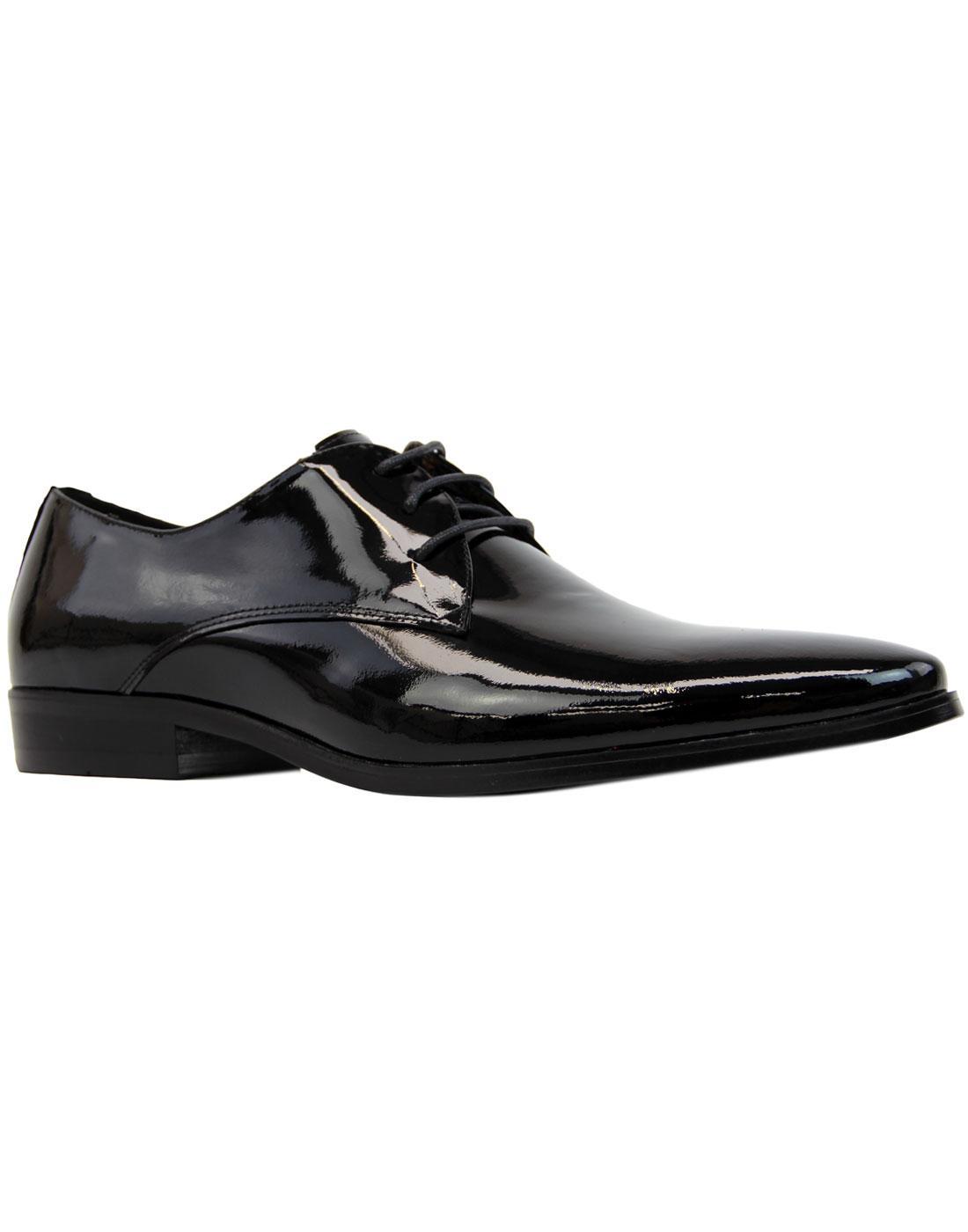 Sai Lace PAOLO VANDINI Patent Leather Dress Shoes