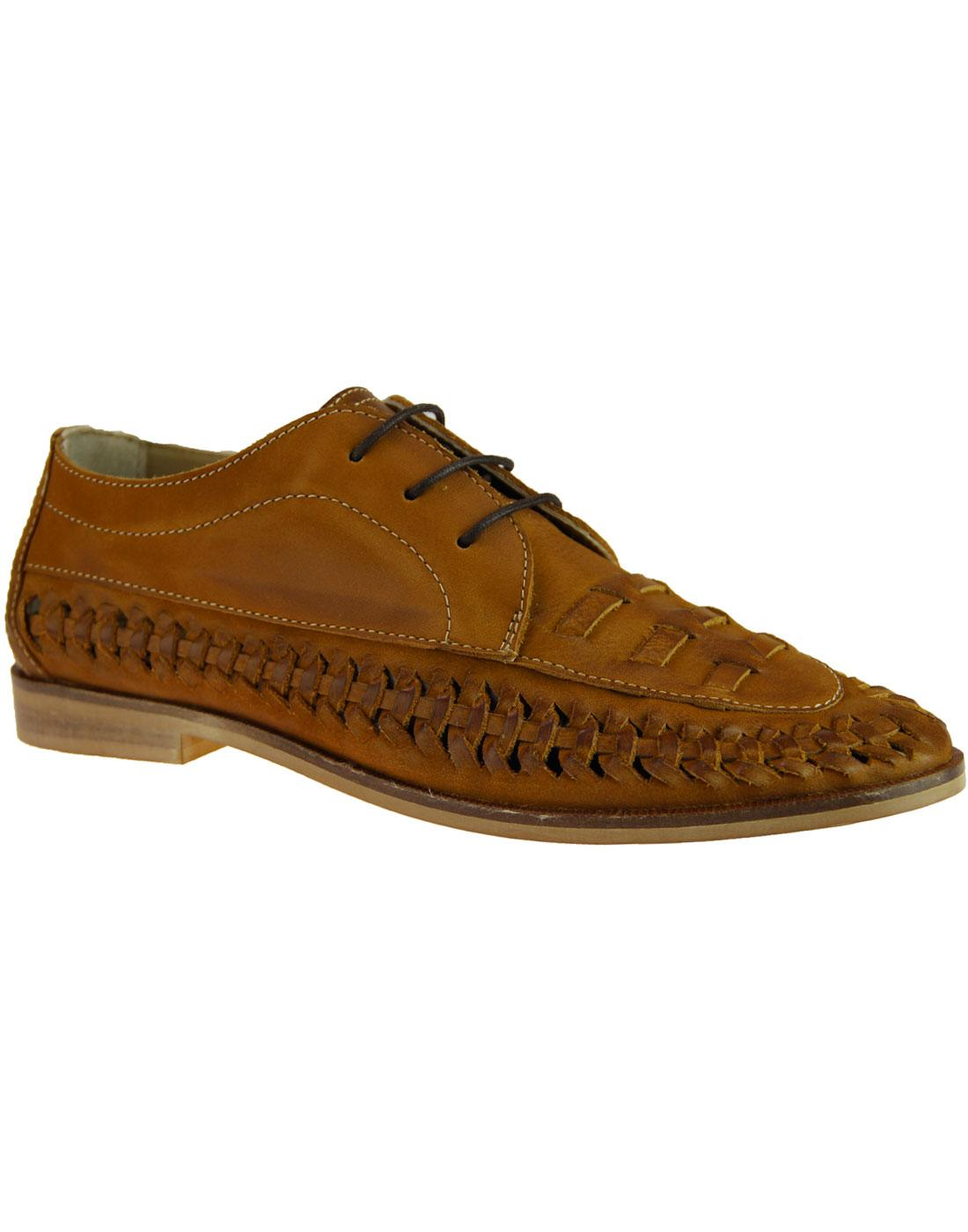 Tobin PAOLO VANDINI Retro 70s Nubuck Summer Shoes