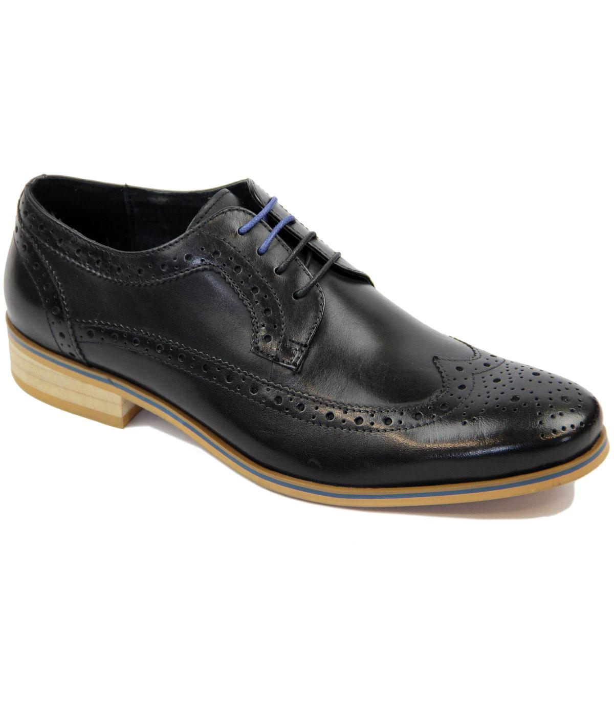 Limehouse PAOLO VANDINI Mod Long Wing Brogues (B)