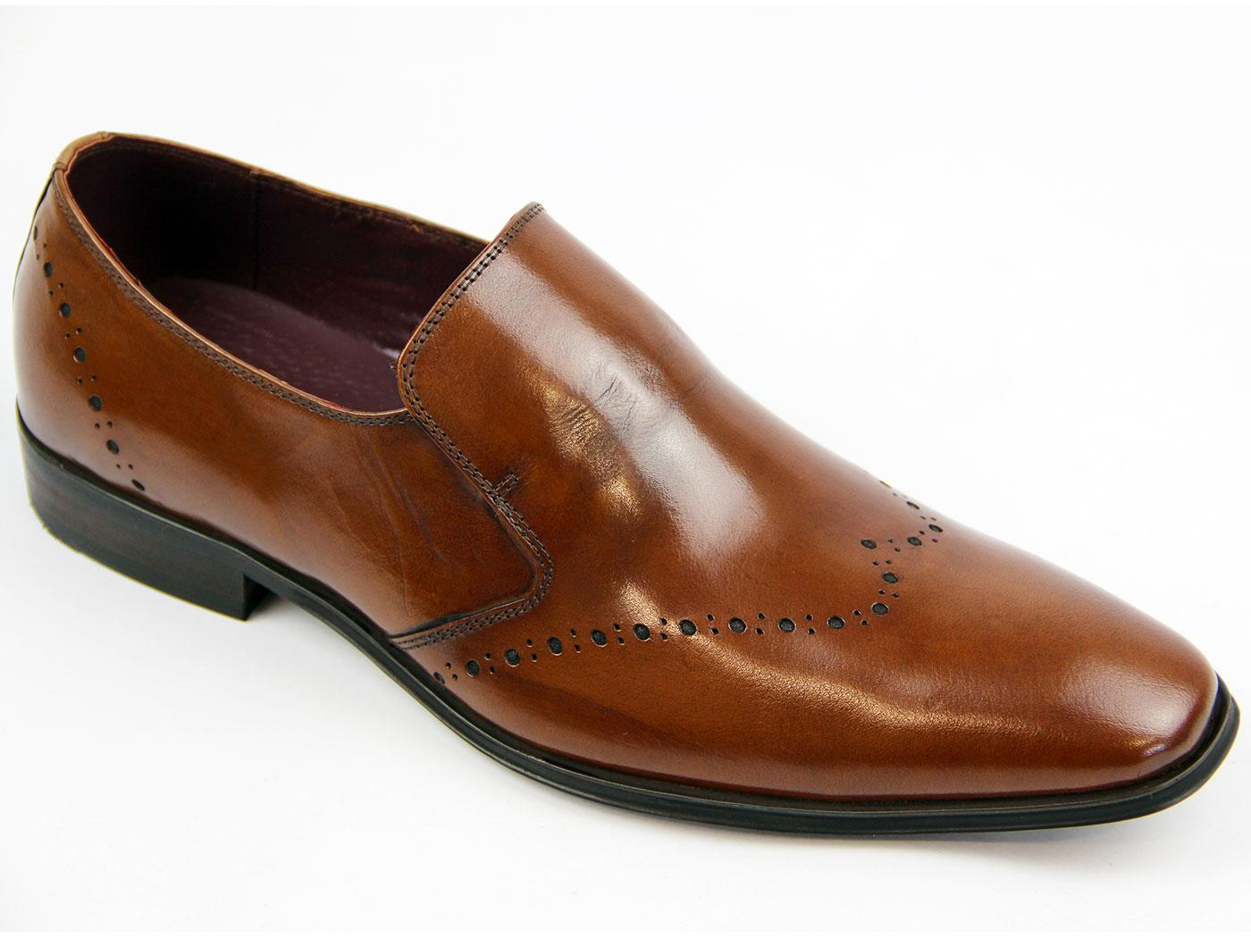 Men's Brogue Shoes & Boots Our collection of timeless men's brogues has it all – from leather brogue boots to classy Chelsea boots in black, brown and tan. Dress them up with a sharp suit, or pair them with jeans and something low-key for the weekend.