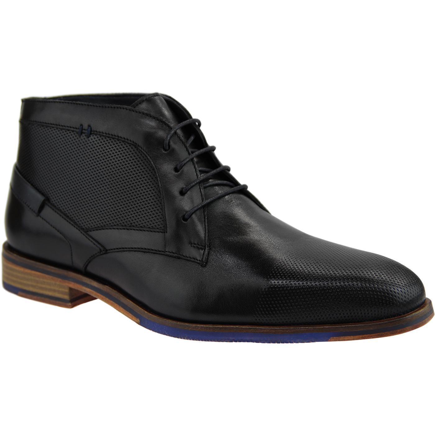 Dalton PAOLO VANDINI Mod Textured Worker Boots (B)