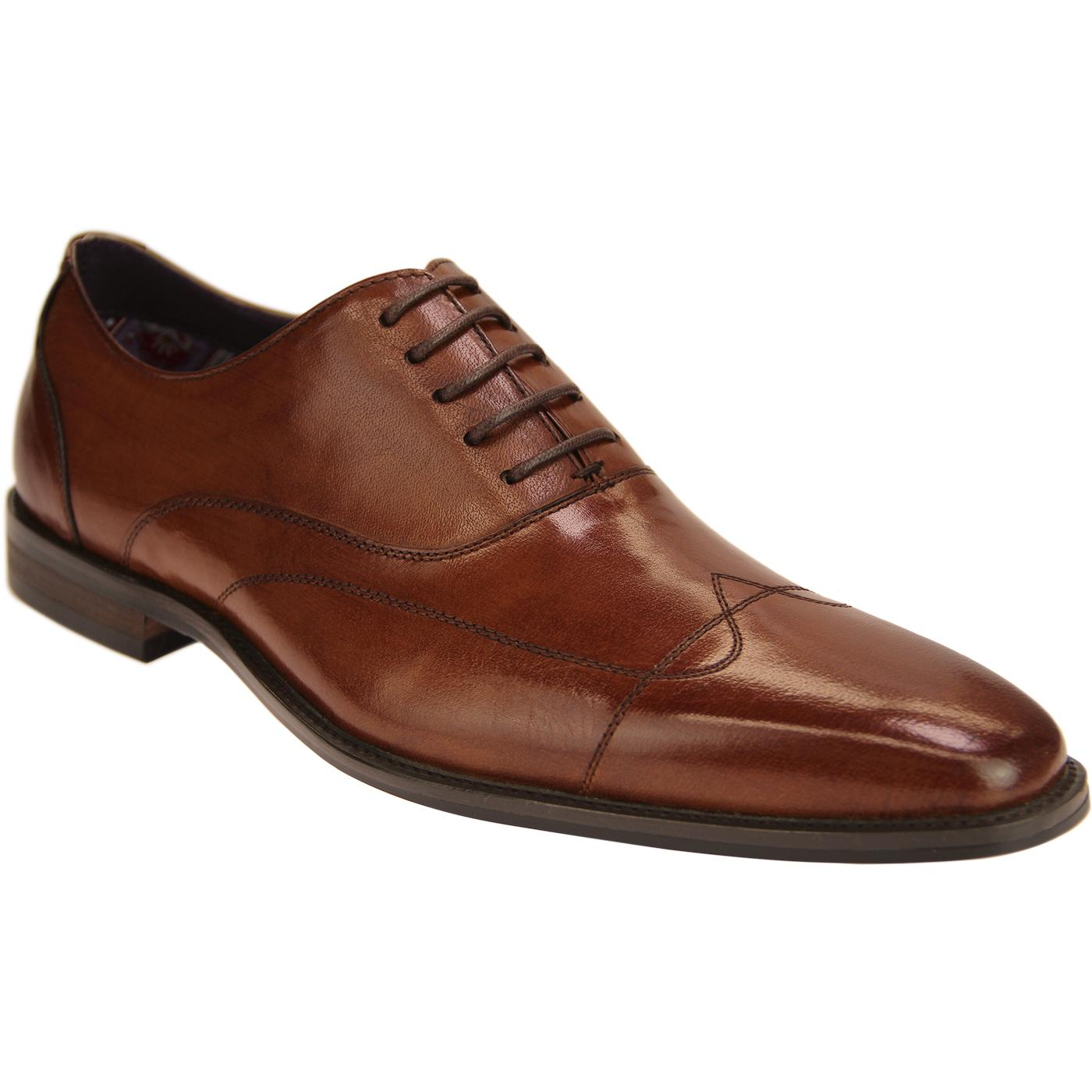 Dave PAOLO VANDINI Retro Stitched Wingtip shoes T