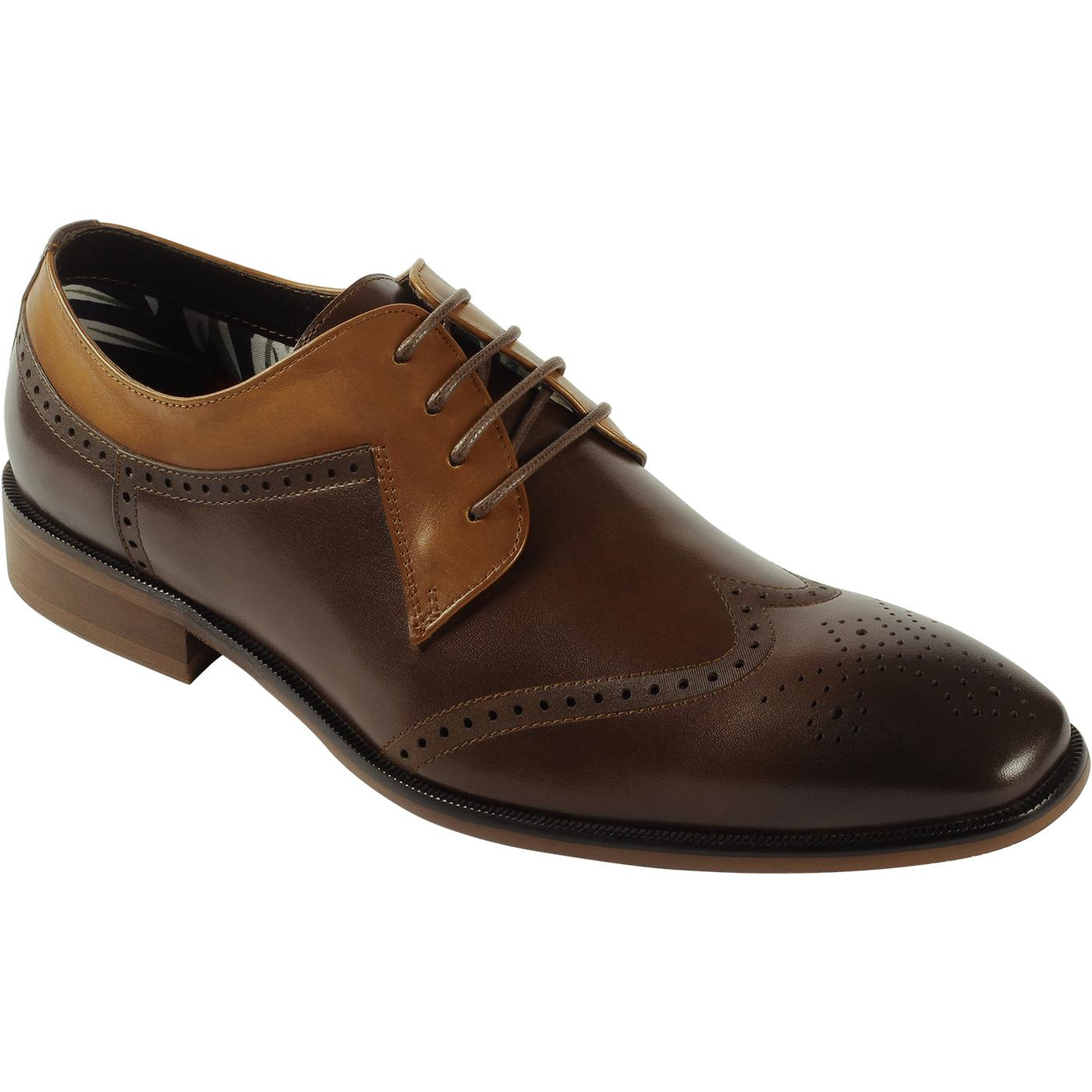 Nyland Cuff PAOLO VANDINI Tri-Colour Brogues (B/T)