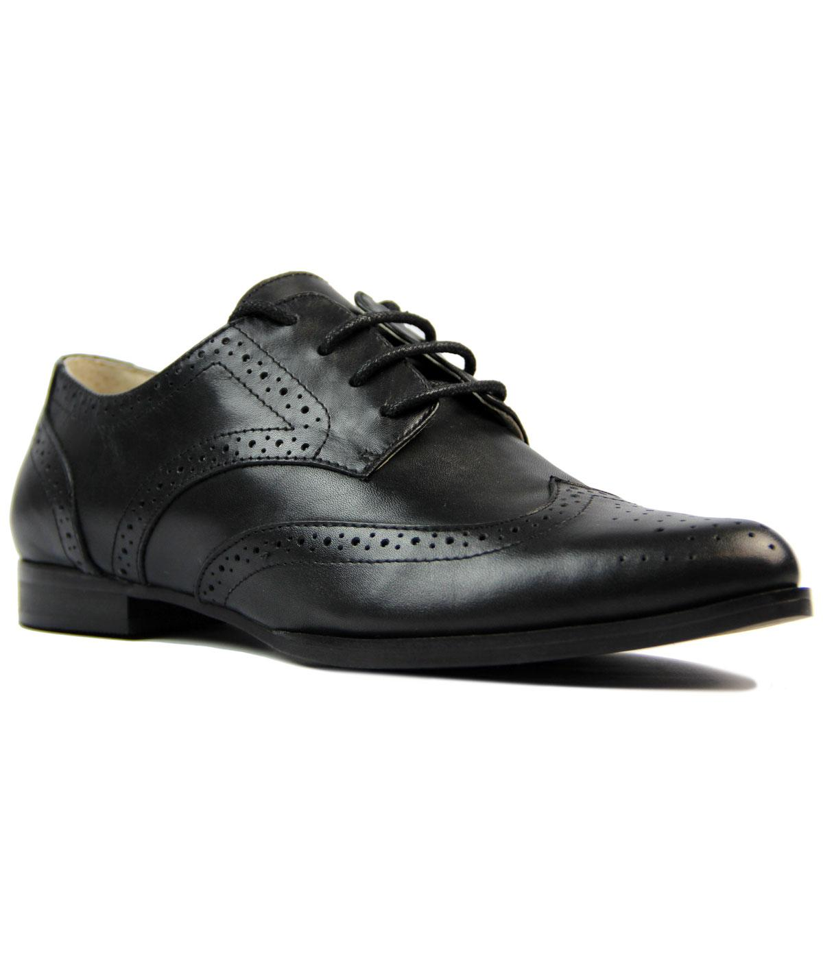 Parthina LACEYS Retro 60s Mod Winklepicker Brogues