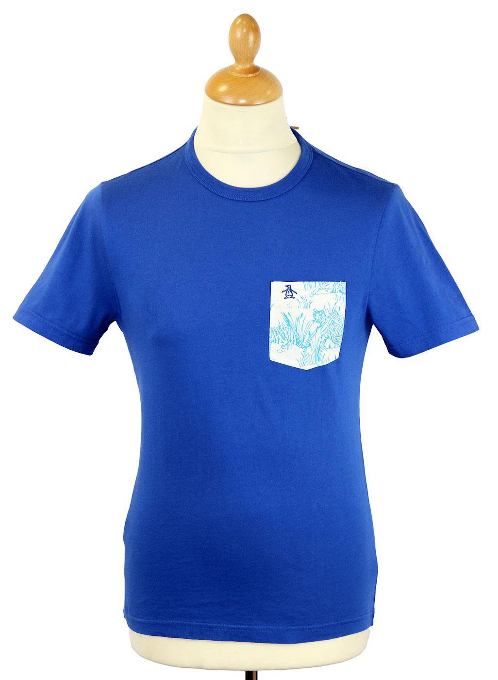 Tiger Pocket ORIGINAL PENGUIN Retro Indie T-shirt