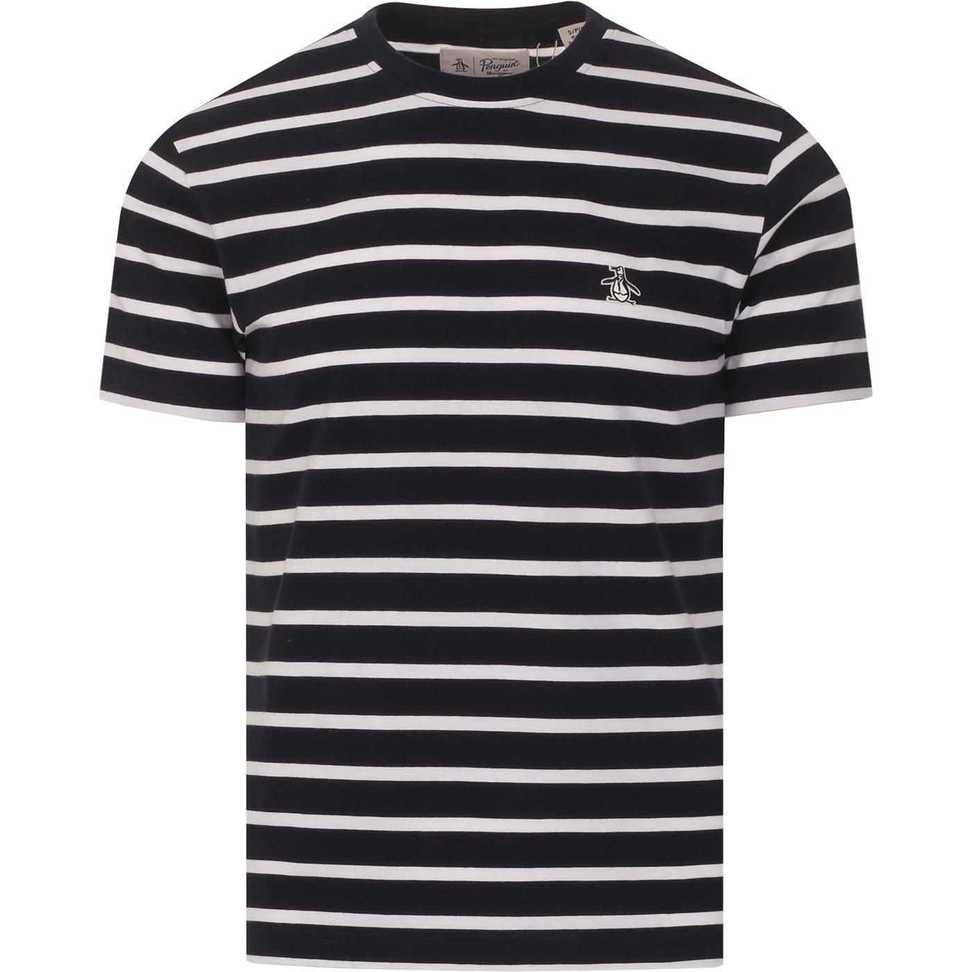 ORIGINAL PENGUIN Retro Mod Breton Stripe Tee (DS)