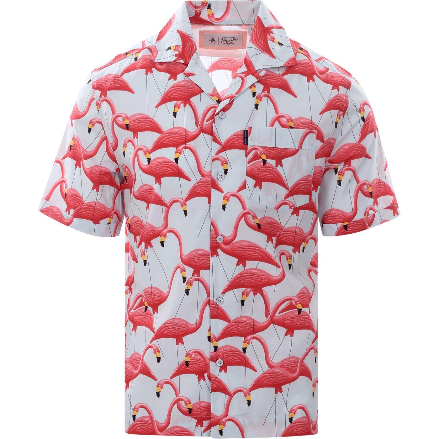 ORIGINAL PENGUIN 70s Flamingo Resort Collar Shirt