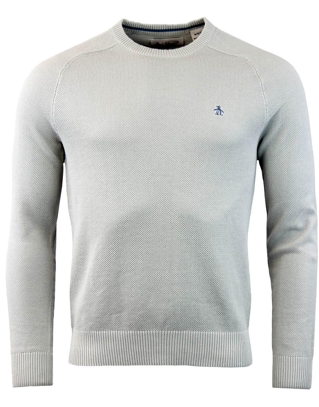 ORIGINAL PENGUIN Retro Honeycomb Pique Knit Jumper