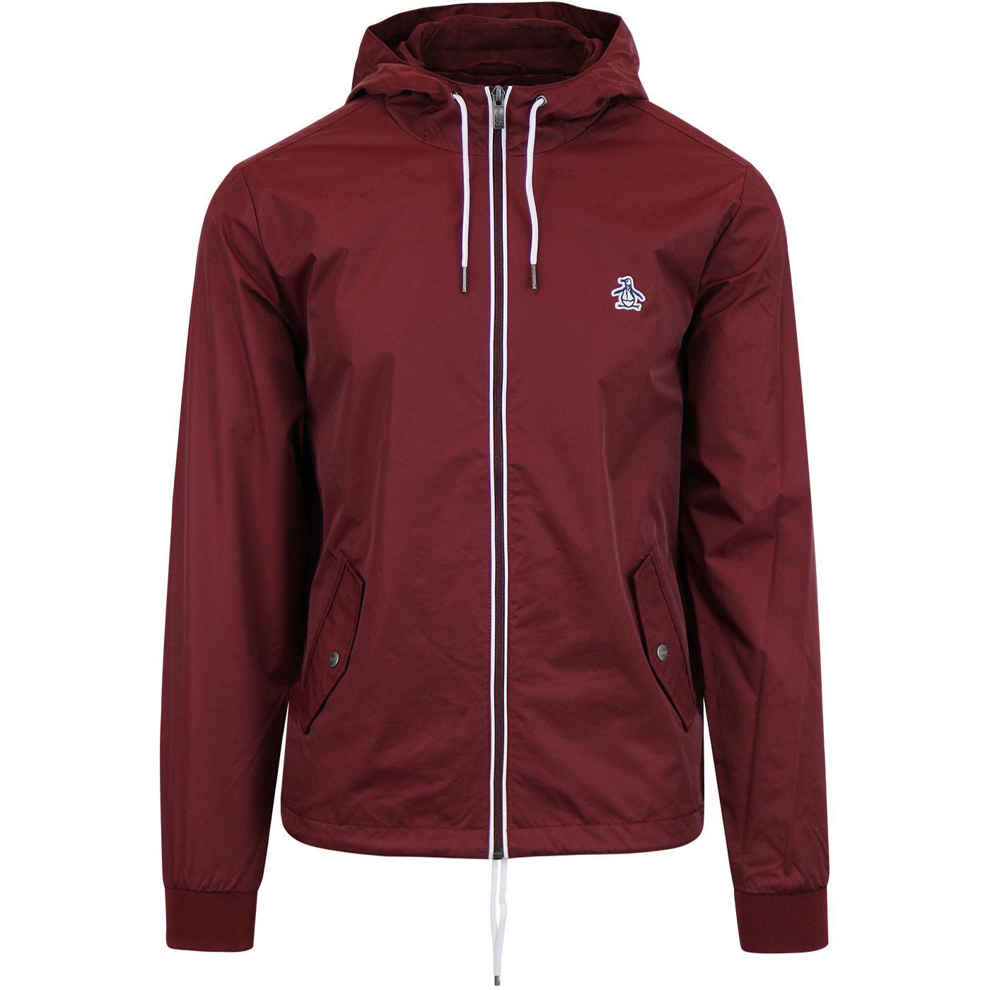 Hooded Ratner ORIGINAL PENGUIN Zip Up Jacket TP