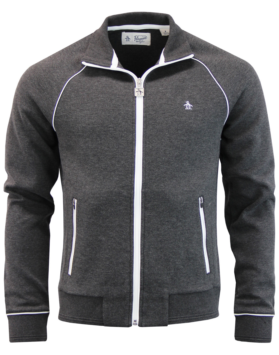 Earl ORIGINAL PENGUIN Retro 70s Piping Track Top