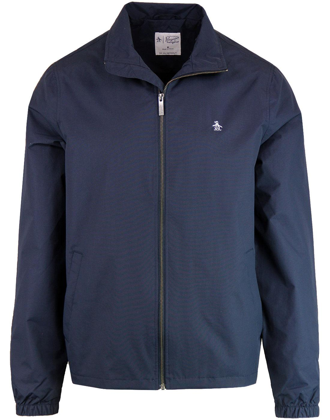 ORIGINAL PENGUIN Retro Funnel Neck Windcheater