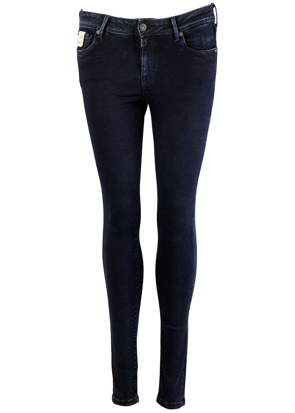 Lola PEPE JEANS Retro Dark Wash Skinny Jeans