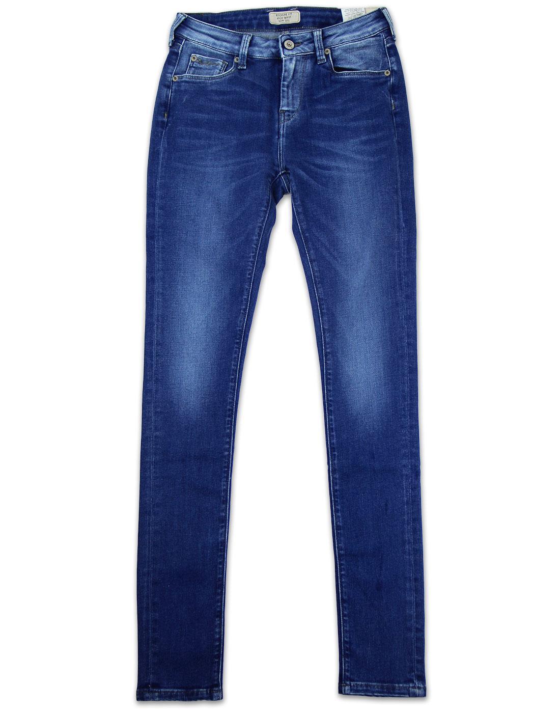 PEPE JEANS Regent Retro Skinny Denim Jeans M46
