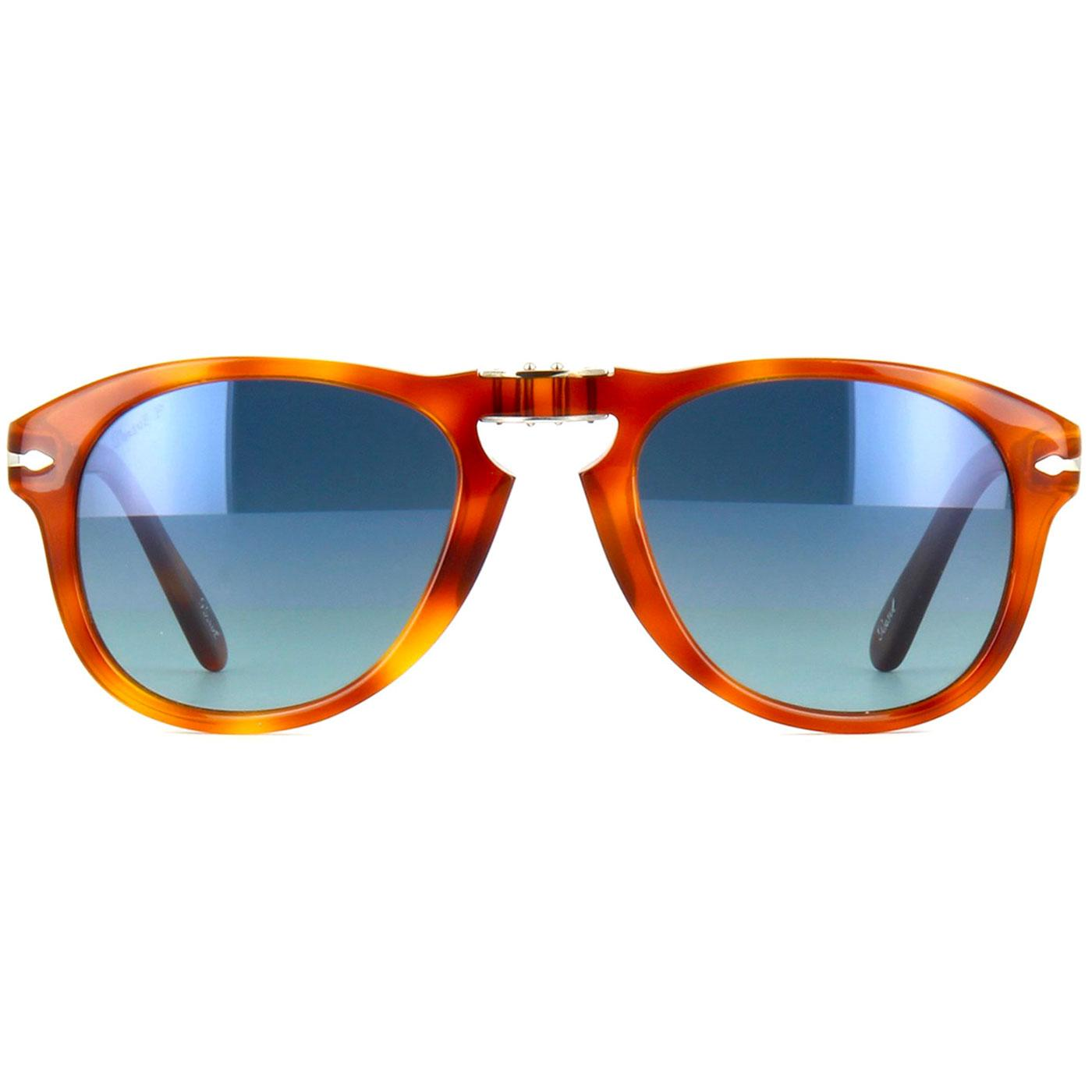 PERSOL Steve McQueen 714SM Sunglasses LIGHT HAVANA