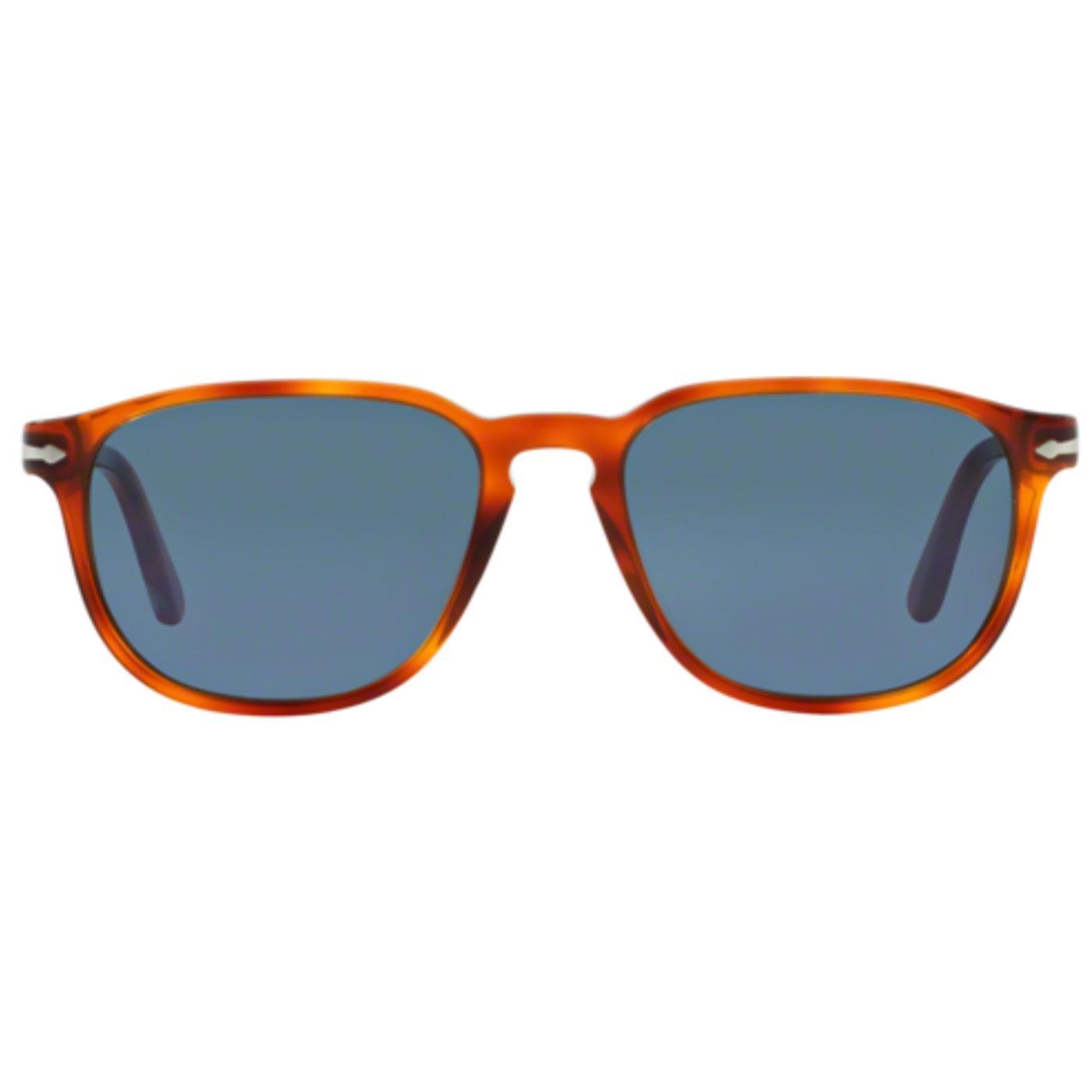 PERSOL Men's Retro 50s Terra Di Siena Sunglasses