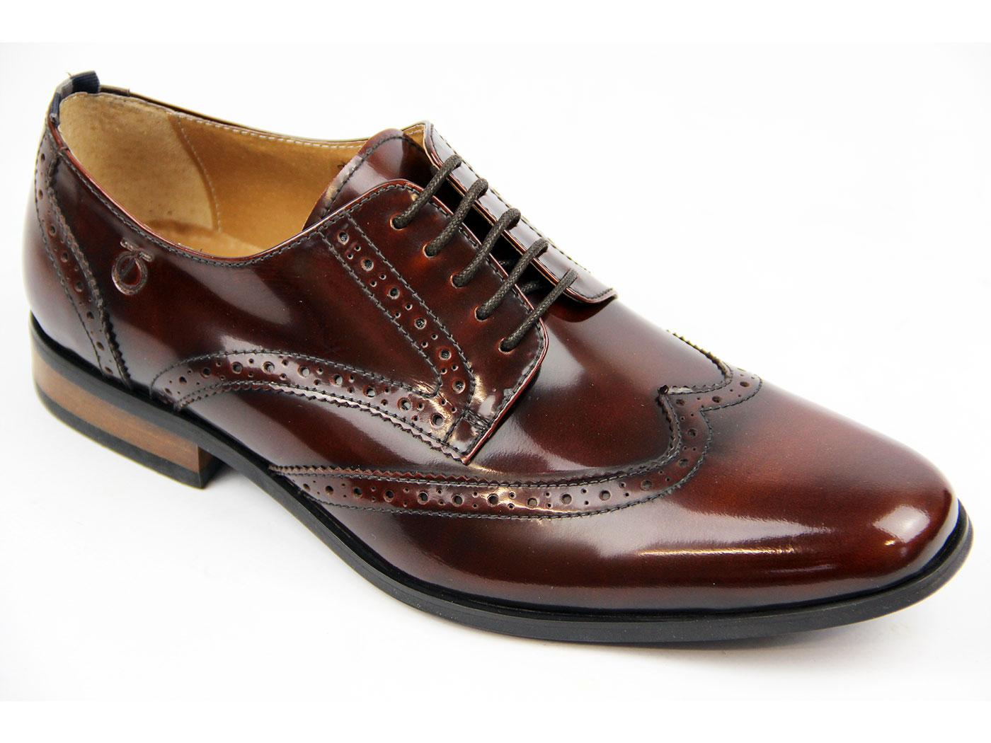 Battishill PETER WERTH Retro Mo High Shine Brogues