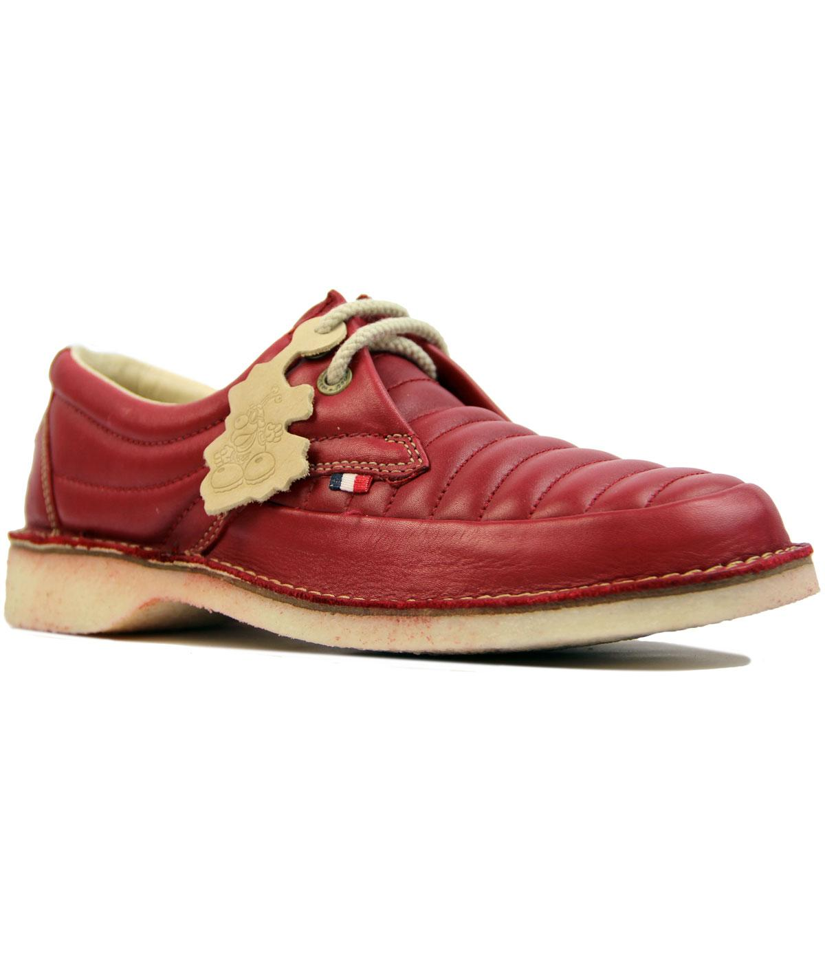 Jagger POD Retro 1970s Quilted Front Casuals Shoes