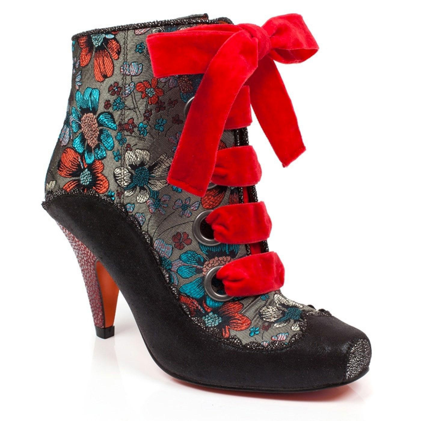 Perennial Passion POETIC LICENCE Floral Heel Boots