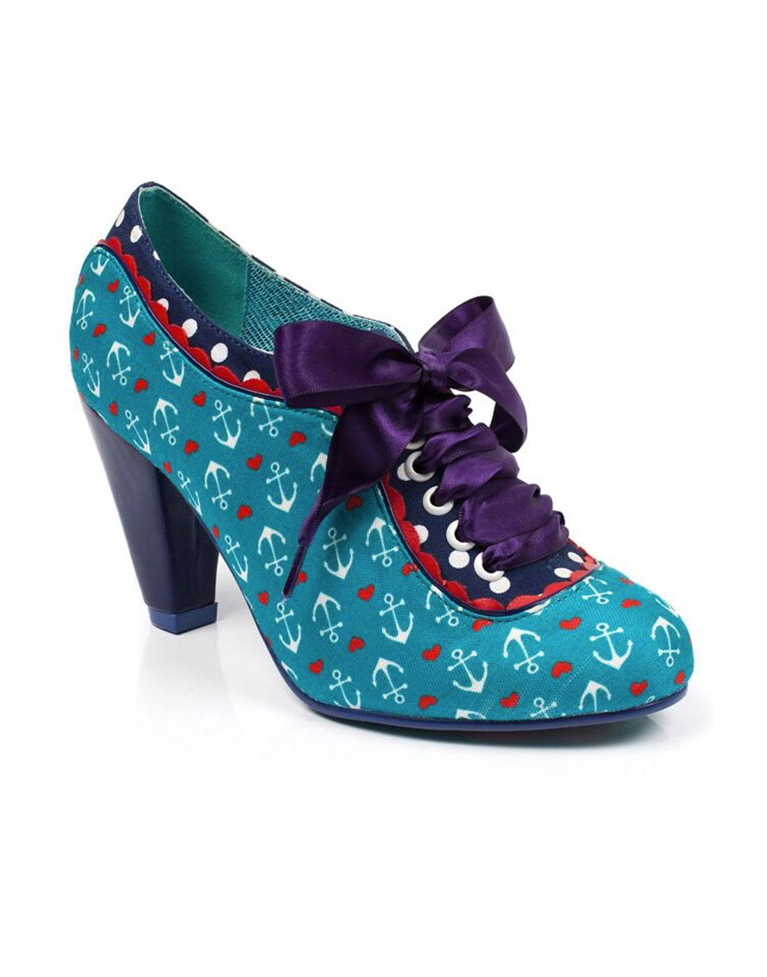 Backlash POETIC LICENCE Nautical Anchor Heels T
